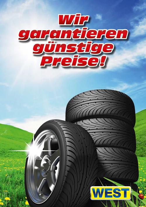 Garantiert die günstigsten Reifen!